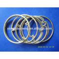 Venda quente anel de metal o e moda gancho e loop com preço barato