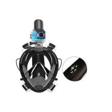Máscara de mergulho para rosto inteiro com certificado CE