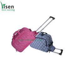 Moda de viaje bolso de la carretilla, bolso del equipaje de las señoras (YSTROB00-024)