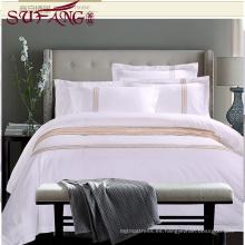 Proveedor de ropa de cama de cama de hotel de alta calidad 100% Cotton60s / 40S / 80S