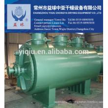 Secador de rastrillo de vacío continuo / secador de grada de vacío