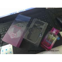 Caja de embalaje de cosméticos de plástico personalizado para perfume, máscara, conjunto de cuidado de la piel