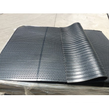 Horse Rubber Mat, Animal Stable Mat, Cow Horse Grooved Mat