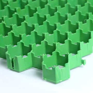 Pavé polymère HDPE herbe géocellule