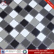 Китай оптовые смешанные стеклянные плитки мозаики для стены спальни дизайн