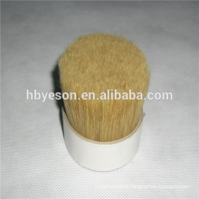 manufacturer 50% bristle and 50% PET 90% tops white mixed bristle