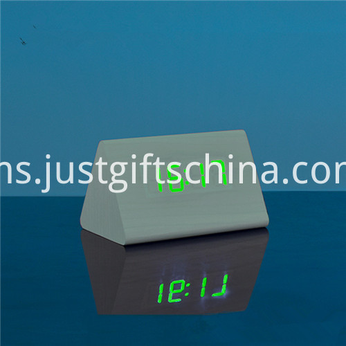 Promotional LED Wooden Table Clock 3