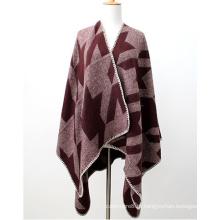 A cashmere macia das mulheres igualmente sente a impressão de Gird da andorinha roubou o xaile do poncho (SP287)