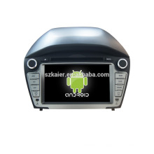 Viererkabelkern! Auto dvd mit Spiegellink / DVR / TPMS / OBD2 für 7inch Touch Screen Viererkabel 4.4 Android System HYUNDAI IX35 2014