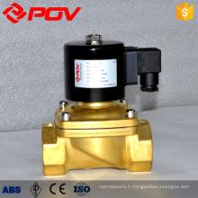 Vanne solénoïde miniature haute pression normalement fermée 220v ac