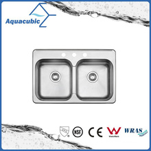 Competitive Price Double-Bowl Moduled Sink (AS8052AM)