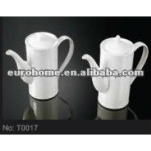 Café de la porcelana de la alta calidad / pote de la leche (No. T0017)