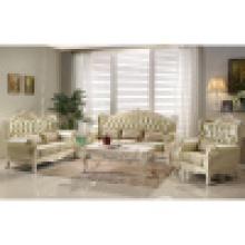 Conjunto de sofá de casa com mesa de canto (D818)