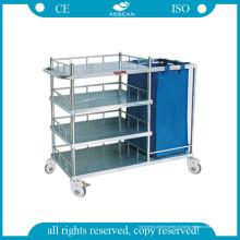 Chariot d'hôpital pour faire le chariot de lit et d'allaitement AG-Ss010b