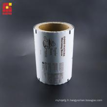 Laminage de films en rouleaux d'aluminium