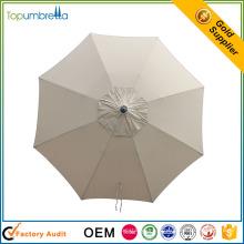 grand parapluie de cantilever de plage de style de poteau suspendu imprimé à vendre