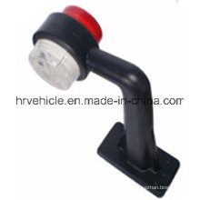 2′′ Red Clear Double Face Light for Truck and Trailer