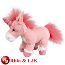 Kundengebundener Soementwurf! Heißer Verkauf! Plüsch Spielzeug rosa Einhörner