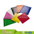 Échantillon gratuit preuve de l'eau Logo personnalisé coloré brillant aluminium feuille d'aluminium métallique enveloppe de courrier à bulles