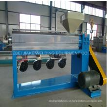 Máquina de fabricação de fio revestido de PVC com inversor