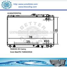 Radiateur de voiture pour Toyota Camry 92-93 OEM: 1640062090 1640062100 1640062110 1640062140/150/160