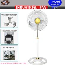 Ventilateur industriel industriel de 18 pouces avec base blanche
