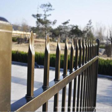 valla retráctil de valla de aluminio horizontal