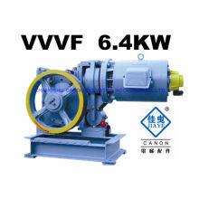 6.4KW-máquina de tração para elevador MRL