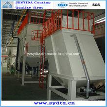 Heißpulverbeschichtungsanlage / Maschine / Lackierlinie Vorbehandlung