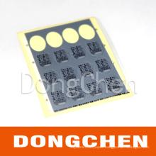 Custom Laser Carving Serial Number Printing and Silk Screen Printing Plastic Sticker