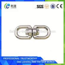 Eslabón de cadena de acero inoxidable con ojo y ojo en China