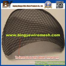 Treillis métallique perforé utilisé dans les faux plafonds et ainsi de suite