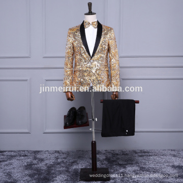 Free Shipping men suits 2017 formal evening dress at party white or Ivory colored prom gowns suzhou suruimei factory