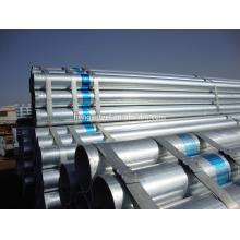 2014 Fábrica de Tianjin bs1387 tubo de acero galvanizado medio