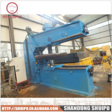 2014 Shuipo CNC tank head,dished end flanging machine,pipe end forming machine