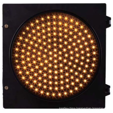 PC Housing LED Traffic Light Signal-Yellow plastic housing