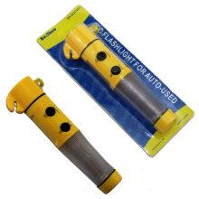 Мини-многофункциональный 4 в 1 автоматический аварийный молот