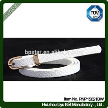 White PU women Belts for Female Dress Jeans Cintos Straps Designer Brand