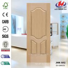 JHK-S02 Perfecto Diseño Groove Pit Arabia Saudita Ingeniería Oak Molded Door Skin