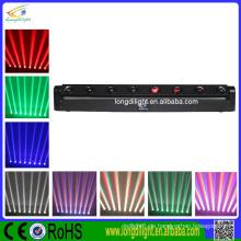 Preiswerter 8 * 10W RGBW 4in1 LED beweglicher Hauptstab dj Beleuchtung