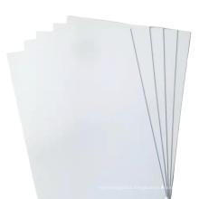 300Microm Rigid Opaque White Matt PVC Sheet For Lampshade