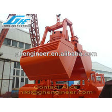 12 to 6CBM Electro-Hydraulic Clamshell Grab for handing bulk material