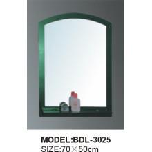 Miroir de salle de bains en verre argenté d'épaisseur de 5mm (BDL-3025)