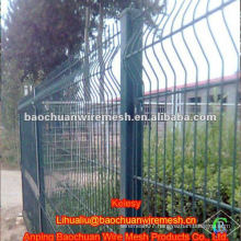 PVC coated steel bending wire fence