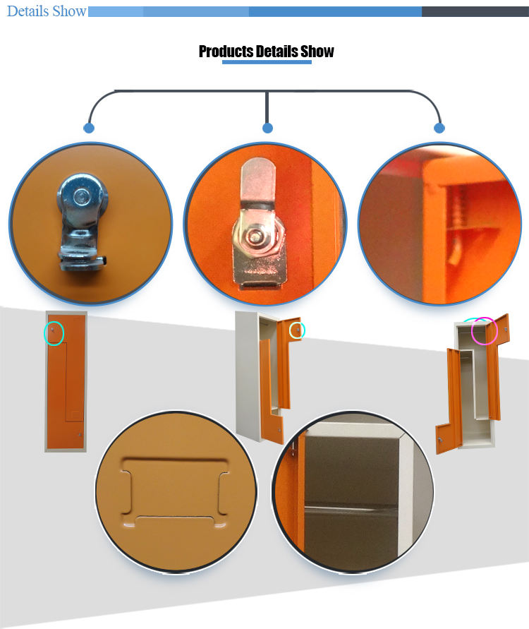 steel z sharp door locker