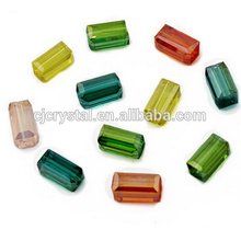 Perles de cristal chinoises en gros perles rectangulaires