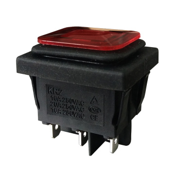 Waterproof Rocker Switch IP67 untuk Winch