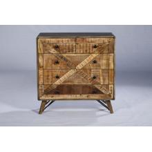 Industrial Vintage Dormitorio Cuarto de cajón de madera