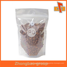 Guangzhou supplier high quality heat seal moisture proof plastic material coffee bag with valve for your own logo
