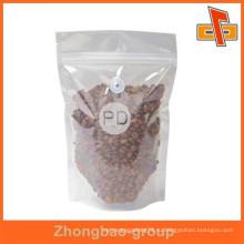 Гуанчжоу поставщик высокое качество тепла печать влагостойкий пластиковый материал кофе мешок с клапаном для вашего собственного логотипа